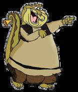 Louis the Alligator as Shrek