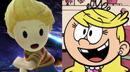 Lucas (Mother 3) and Lola Loud