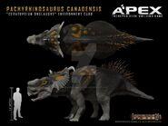 Pachyrhinosaurus canadensis by herschel hoffmeyer d7w980w-fullview