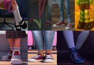 Penny, Coraline Jones, Riley Andersen, Vanellope von Schweetz, Margo, Tip and Mai's shoes