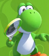 Yoshi in Mario Tennis Aces