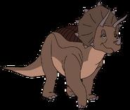 Young Triceratops' Mother thetarbosaurusguard