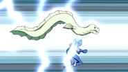 Beast Boy as Electric Eel