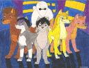 Big Hero Pack by SummerShe-Wolf