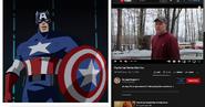 Captain America vs Psycho Dad