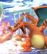 Charizard in Super Smash Bros. Brawl