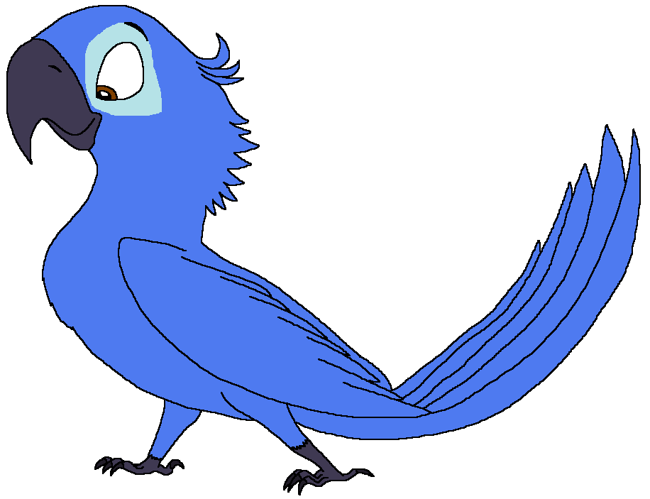 Fear the Spix's Macaw
