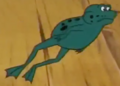 Frog Scooby from Scooby Doo and the Ghoul School