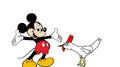 Mickey meets Domestic Chicken