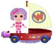 Pillow Featherbed Riding the Wonder Pets Flyboat