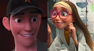 Tadashi and Honey Lemon