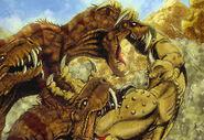 Cyclops vs Rex