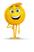 Gene emoji movie