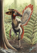 Great Horned Troodont