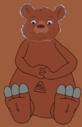 Hippo Little Bear's Feet Tease