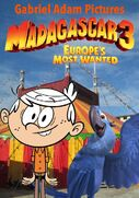 Madagascar 3 Europe's Most Wanted (Gabriel Adam Pictures Style) Movie Poster