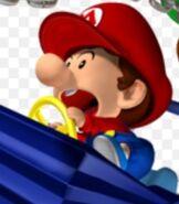 Baby Mario in Mario Kart- Double Dash!!