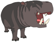 Hip-Pip the Pygmy Hippo