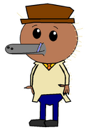 Kenai Hidna (secret agent) (straw)