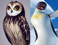 Otulissa and Gloria the Penguin