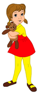Penny as Winnie the Pooh