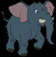 Seth Spacebot elephant form thelionking in thespacebotsadventuresseries