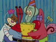 Spongebob and Friends hugging