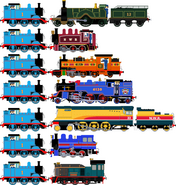 Thomas' Lucky Seven Ships by MillieFan92