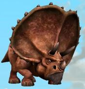 Triceratops Ice Age