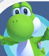 Yoshi in Mario and Sonic at the Olympic Games Tokyo 2020