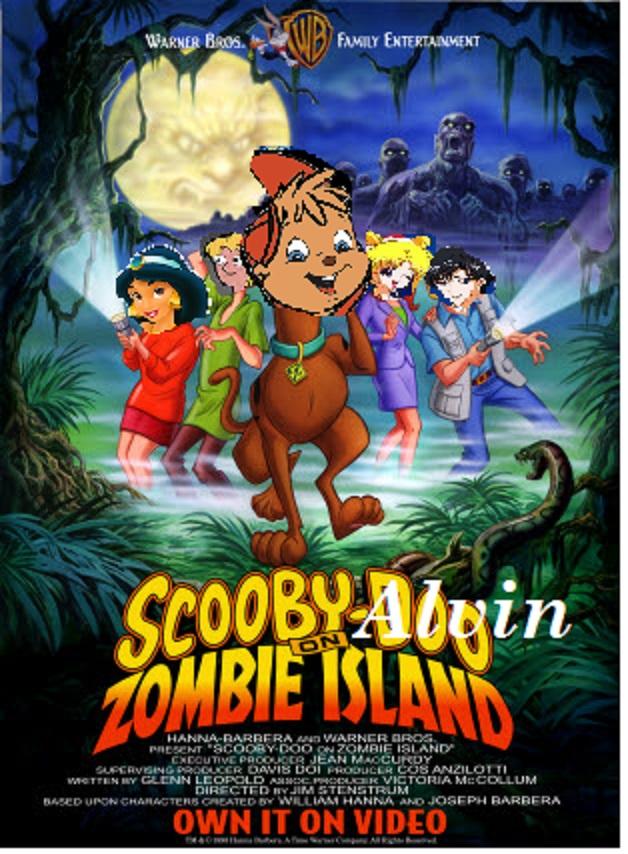 Alvin Doo on Zombie Island
