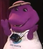 Barney in Barney and the Backyard Gang