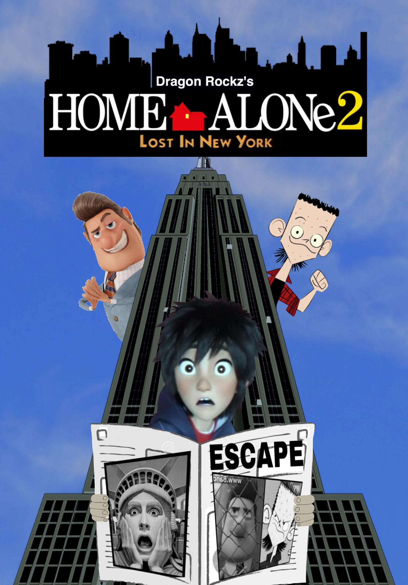 Home Alone 2: Lost in New York (Dragon Rockz Style)