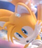 """Miles """"Tails"""" Prower in Mario and Sonic at the London 2012 Olympic Games"""