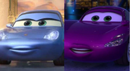 Sally Carrera and Holley Shiftwell