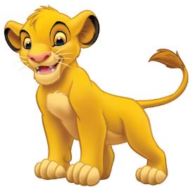 Simba the Lion Cub