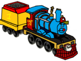 Julian Bernardino's Homemade Take Along and Take 'n' Play Real Life and Casey Jr and Friends Rolling Stock and Characters That He Should Do