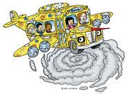 The Magic School Bus Hurricane Airplane Bus