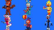Adventures toy animatronics (fnafworld)