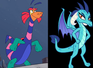 Alebrije and Princess Ember