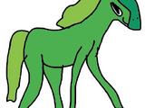 Hoof the Green Horse