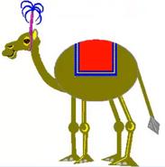 Math blaster jr spectacular shape circus oval camel