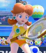 Princess Daisy in Mario Tennis- Ultra Smash
