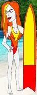 Rebecca's swimsuit by sup fan