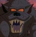 Scar Snout's evil grin
