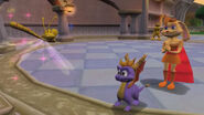Spyro Hunter Sparx Bianca