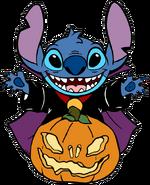 Stitch-pumpkin