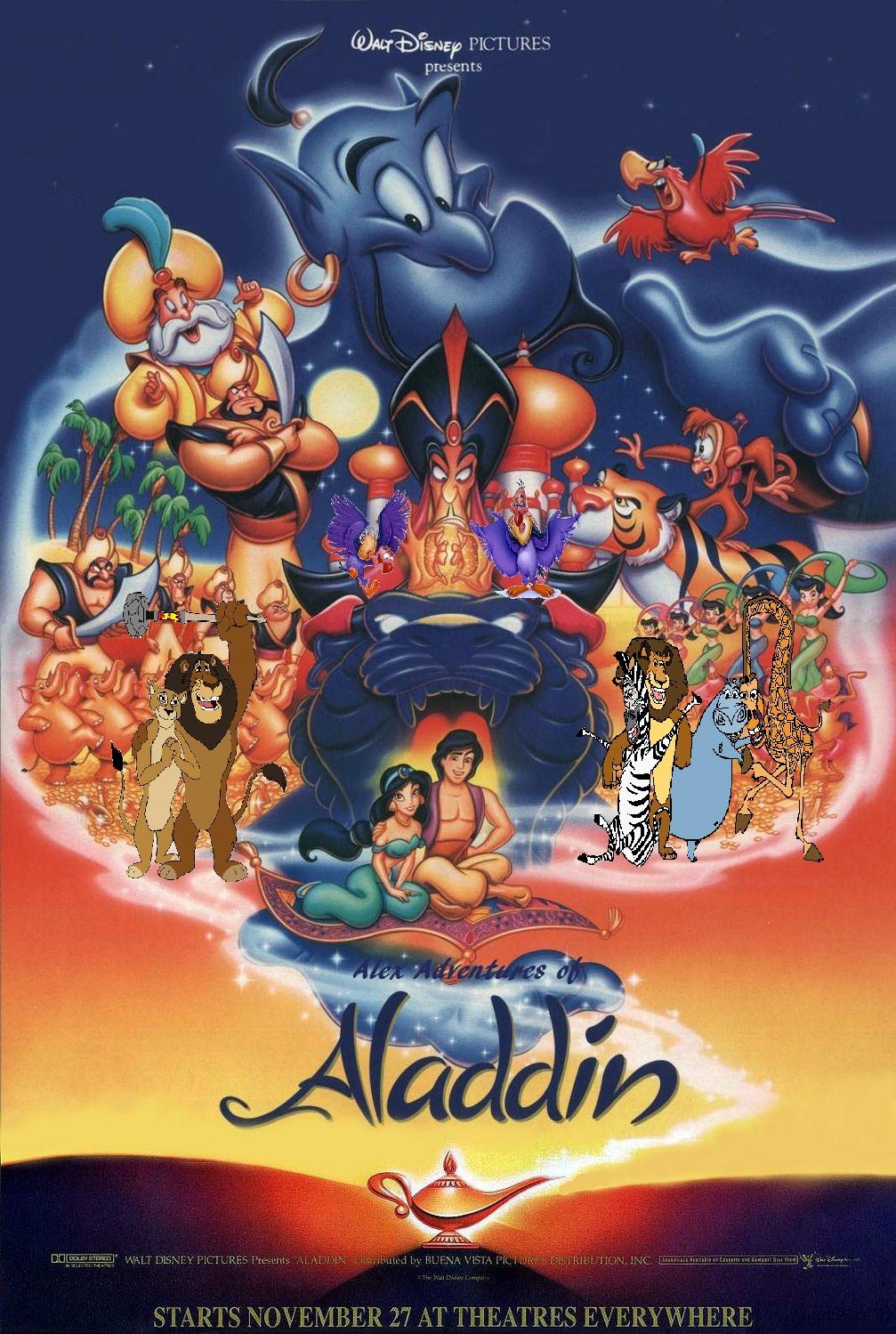 Alex's Adventures of Aladdin