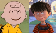 Charlie Brown and Ted