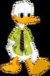 Donald Duck as Nick Wilde